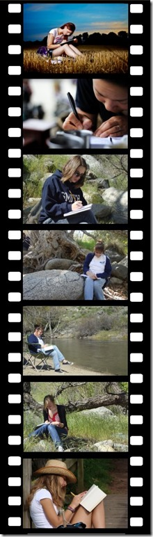 To write film strip x.6 x7