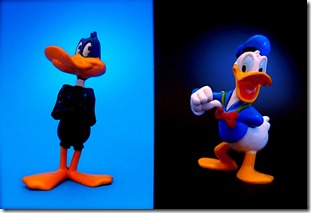 Daffy Duck vs. Donald Duck